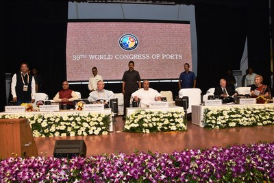 Poetry has the Power to Change & Transform: Naveen Patniak 39th World Congress of Poets Inaugurated at KIIT
