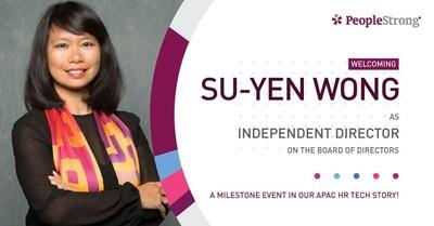 Su-Yen Wong 加入PeopleStrong董事会