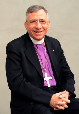 Munib A. Younan (former President of the Lutheran World Federation)