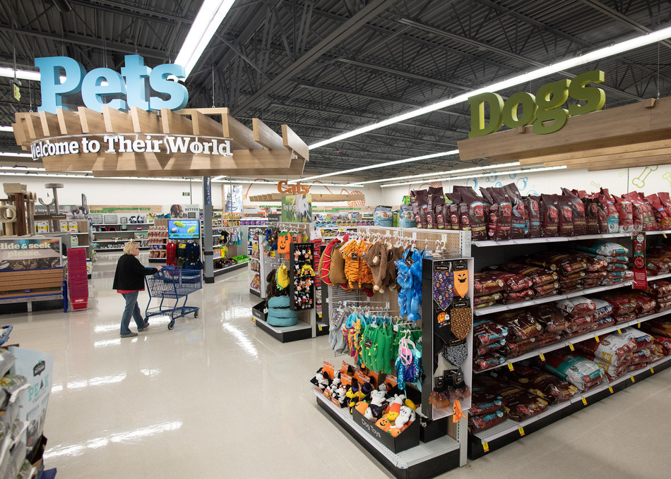 As fur babies continue to stake their claim as beloved family members, Midwest retailer Meijer is working on a parallel path to expand its pet departments for an even larger assortment of everyday essentials like food, grooming supplies and the increasingly popular Halloween costumes.