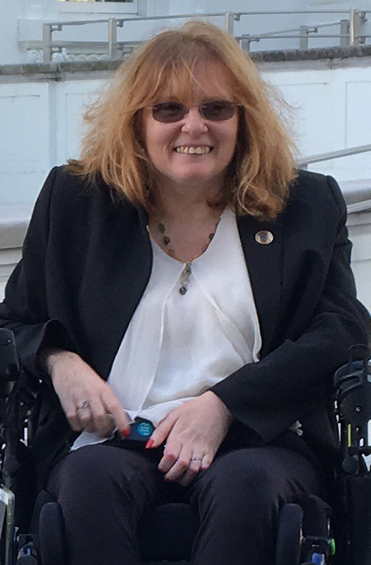 Paralyzed Veterans of America National Vice President Tammy Jones advocates on Capitol Hill to highlight the unique health care needs of women veterans with spinal cord injuries and diseases.