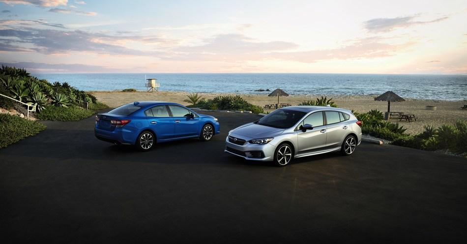 Subaru of America Announces Pricing on 2020 Impreza Sedan and 5-Door Models (PRNewsfoto/Subaru of America, Inc.)