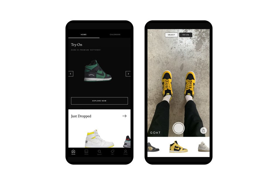 The latest Try-On feature allows GOAT users to experience rare sneakers from wherever they are.