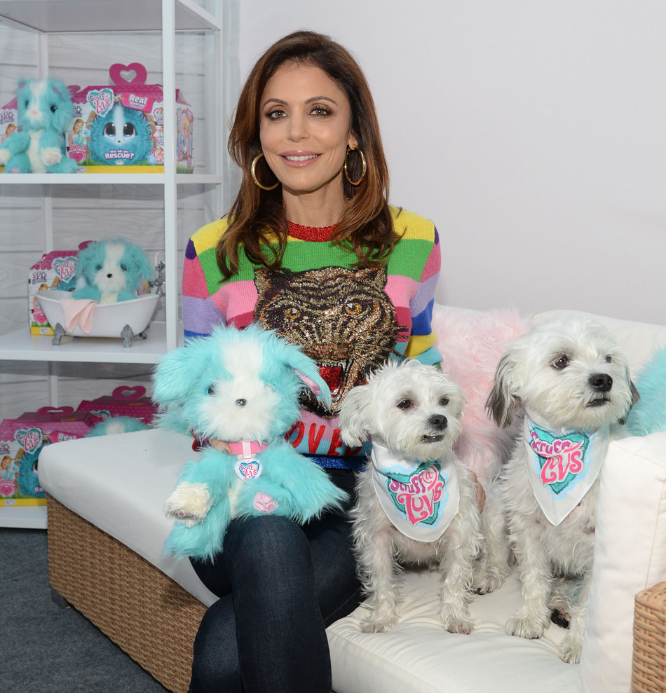 Bethenny Frankel celebrates Adopt a Shelter Dog Month with ASPCA and Scruff-a-Luvs Real Rescue, a toy that promotes nurturing and compassion for pets at a young age.