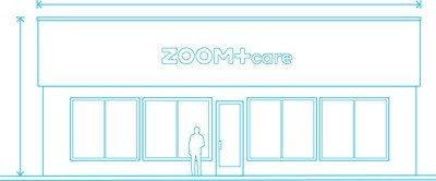 ZOOM+Care's unique retail healthcare model and minimalist footprint offers convenient urgent & primary services right in the heart of urban and suburban centers. (PRNewsfoto/ZOOM+Care)