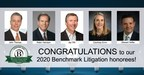 Hicks Thomas Law Firm and Five Partners Earn Benchmark Litigation Honors