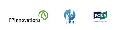 Logos : FPInnovations, JIBH et FCBA (Groupe CNW/FPInnovations)