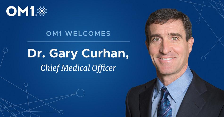 Dr. Gary Curhan joins OM1
