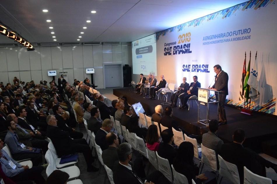 Edição de 2018 do Congresso e Mostra Internacionais SAE BRASIL de Tecnologia da Mobilidade