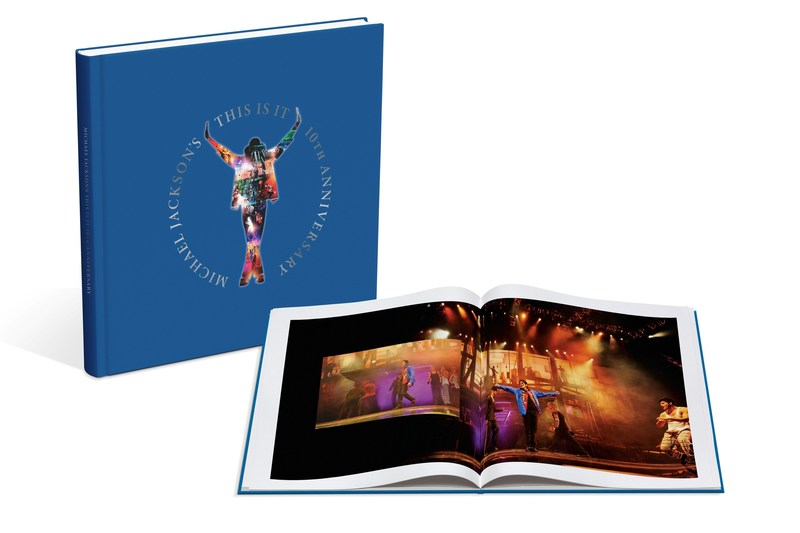 Michael Jackson This Is It 10th Anniversary Boxed set, 64 Page Coffee Table Book with Over 2 Dozen Never Published Photos