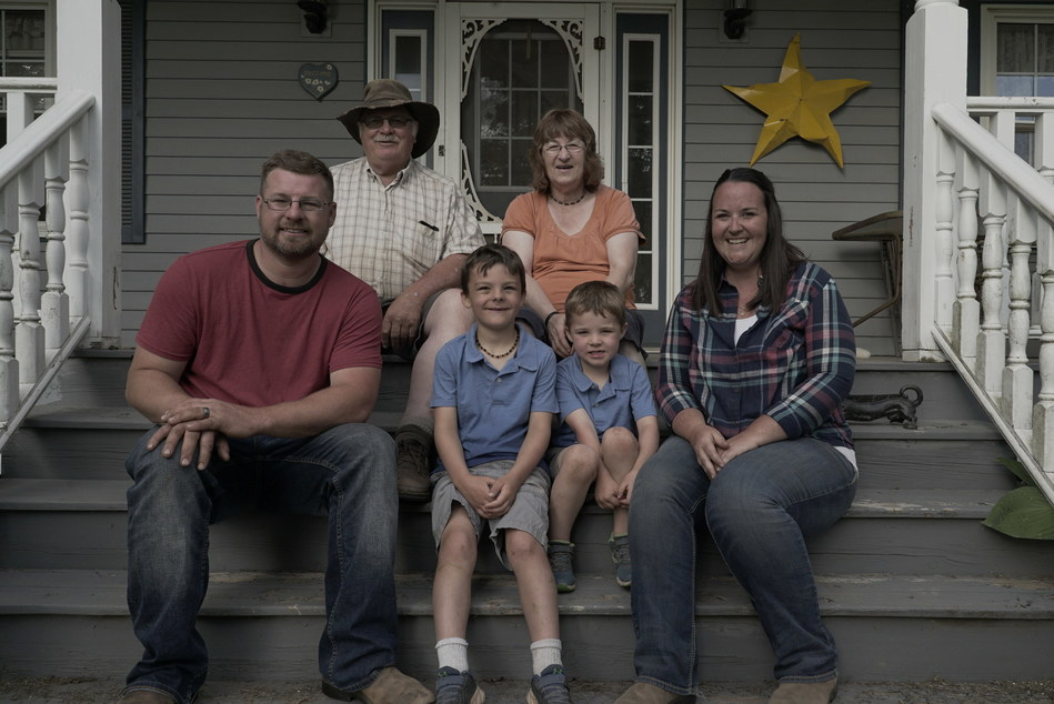 The Keddy family from Lakeville, Nova Scotia. (CNW Group/CropLife Canada)