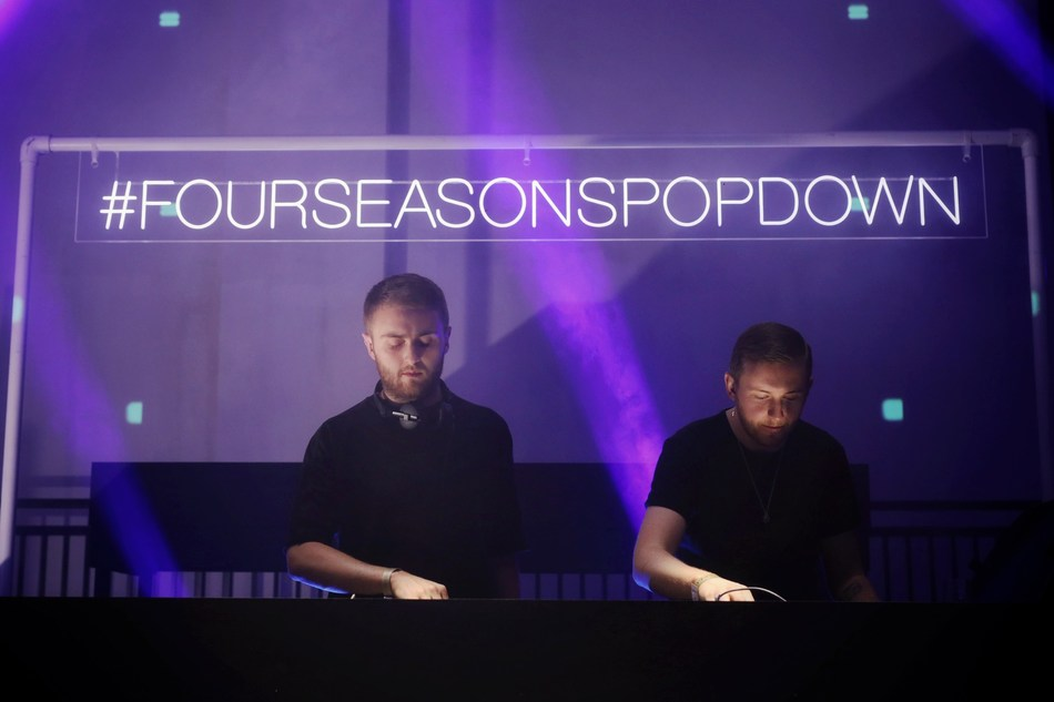 Renowned British duo Disclosure headlined the evening's entertainment.