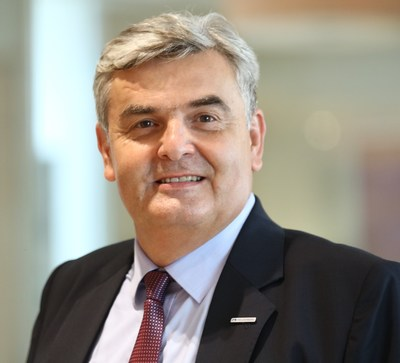 Georg Graf, Regional Representative appointed as president of IGCC.