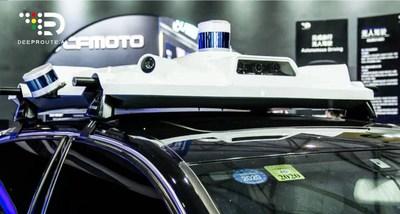 DeepRoute Autonomous Vehicle Roof Box