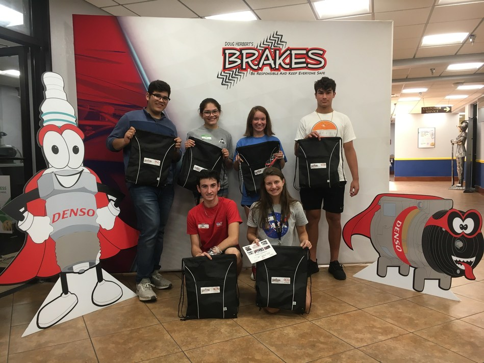 Teens who participate in B.R.A.K.E.S. improve their safety on the road.