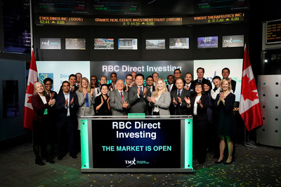 RBC Direct Investing Opens the Market (CNW Group/TMX Group Limited)