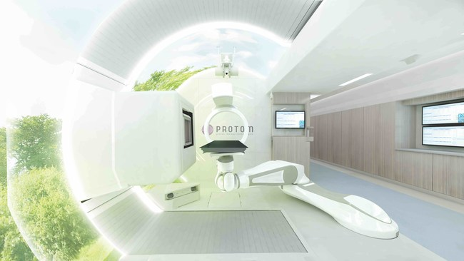Radiance330@ Proton Therapy System Treatment Room