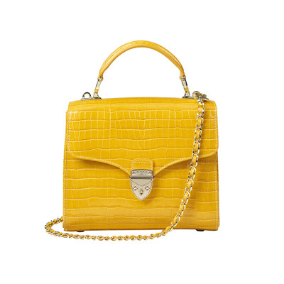 Midi Mayfair in Bright Mustard £550