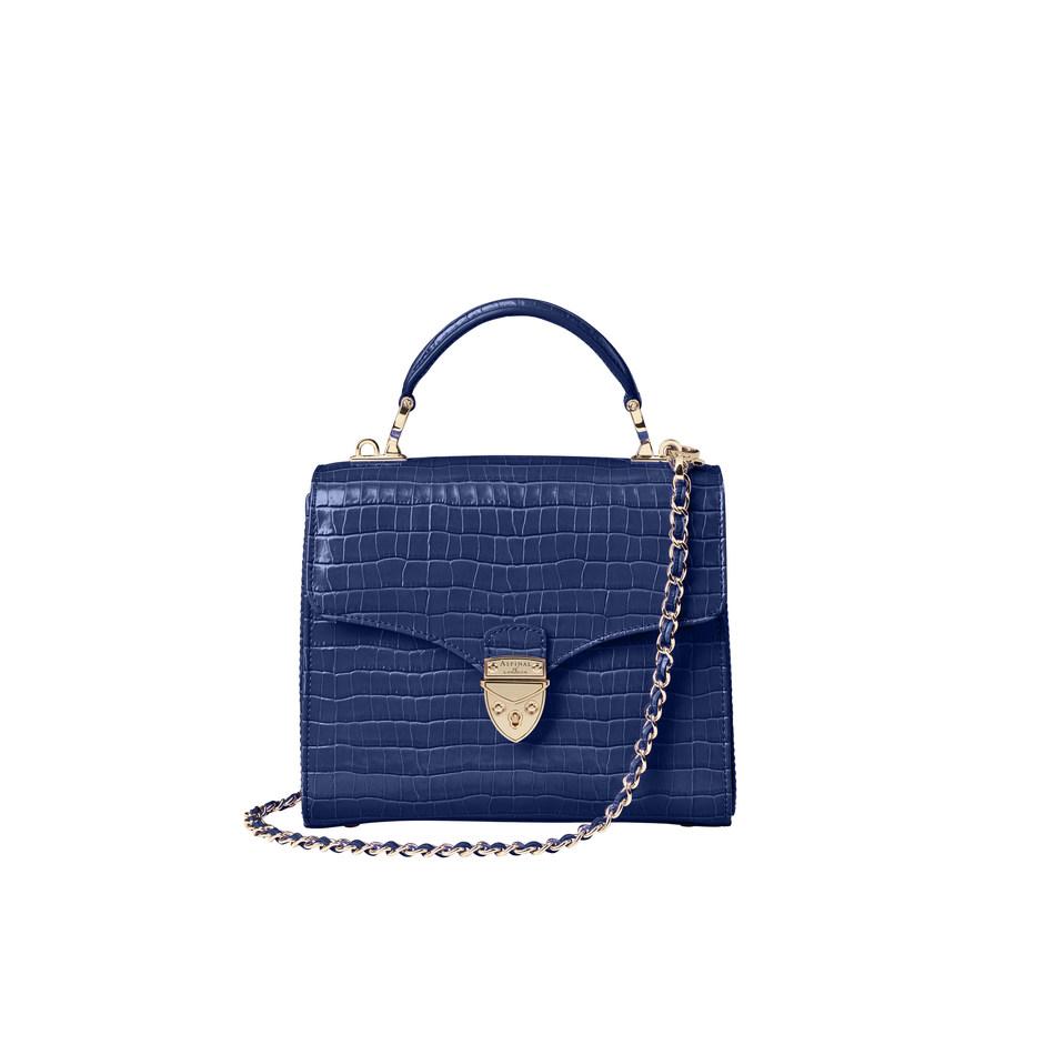 Midi Mayfair in Midnight Blue £550