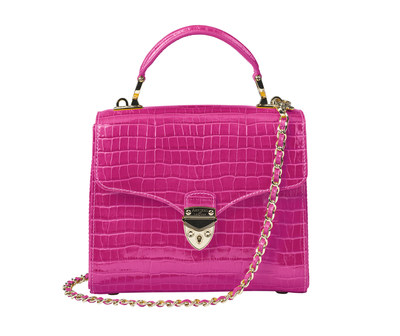 Aspinal of London Launch Iconic Midi Mayfair Handbag in Three New Colours