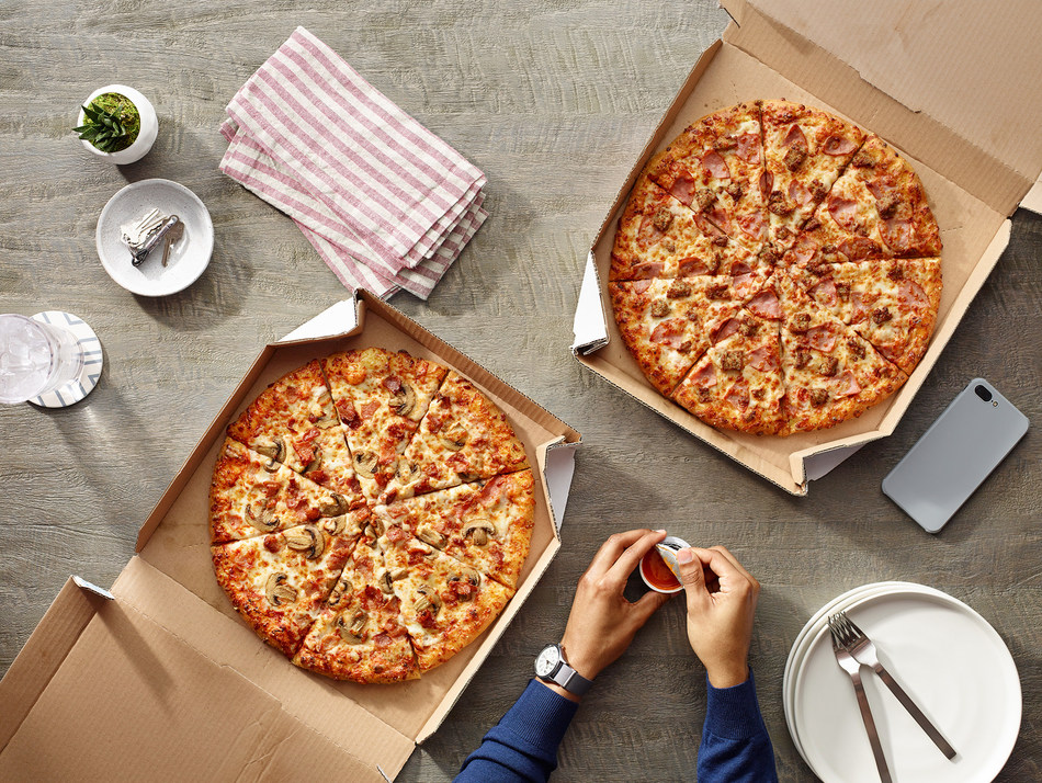 In celebration of National Pizza Month, Domino's is offering large two-topping carryout pizzas for $5.99 each from Oct. 7-13.