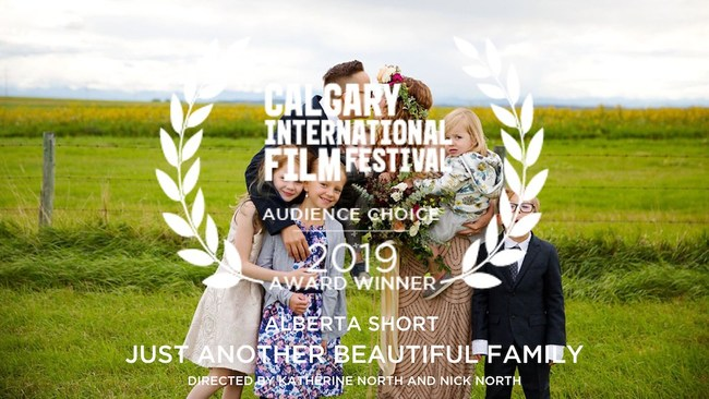 A tender love story about a family with a transgender parent won the Audience Choice Award at Calgary International Film Festival. Photo credit: Dana Pugh.