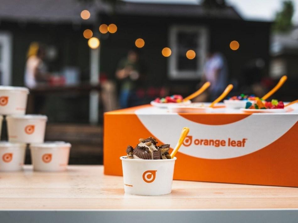 La Pop-Up Party Box lleva la experiencia de autoservicio de yogur helado a cualquier ocasión.