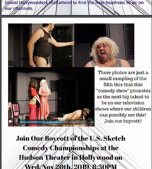 Controversial Sketch Comedy Performers