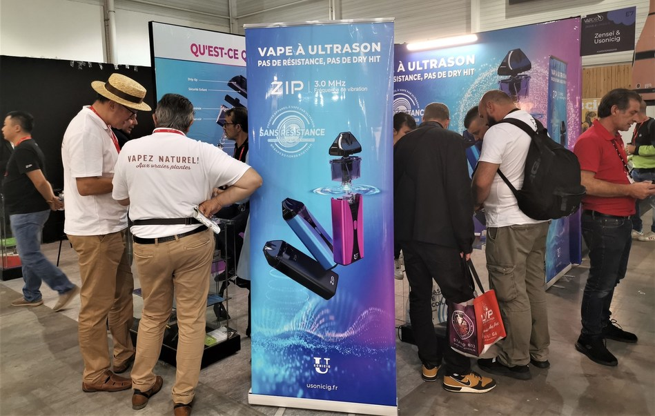 USONICIG Partners with L'EMOTION in Return to Vapexpo in Paris