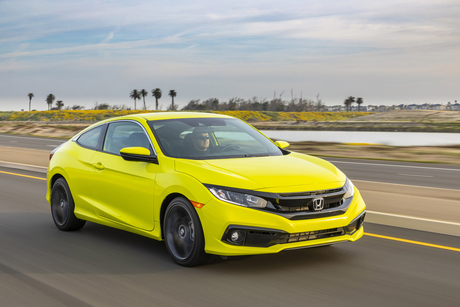 Thoroughly refreshed last year, the 2020 Honda Civic Coupe and Sedan begin arriving at dealerships tomorrow with a Manufacturer's Suggested Retail Price (MSRP) starting at $19,750 (excluding $930 destination and handling). The refreshed styling from last year and numerous interior upgrades carry over to the 2020 model as Civic continues its run as the retail best-selling car in America three years running.