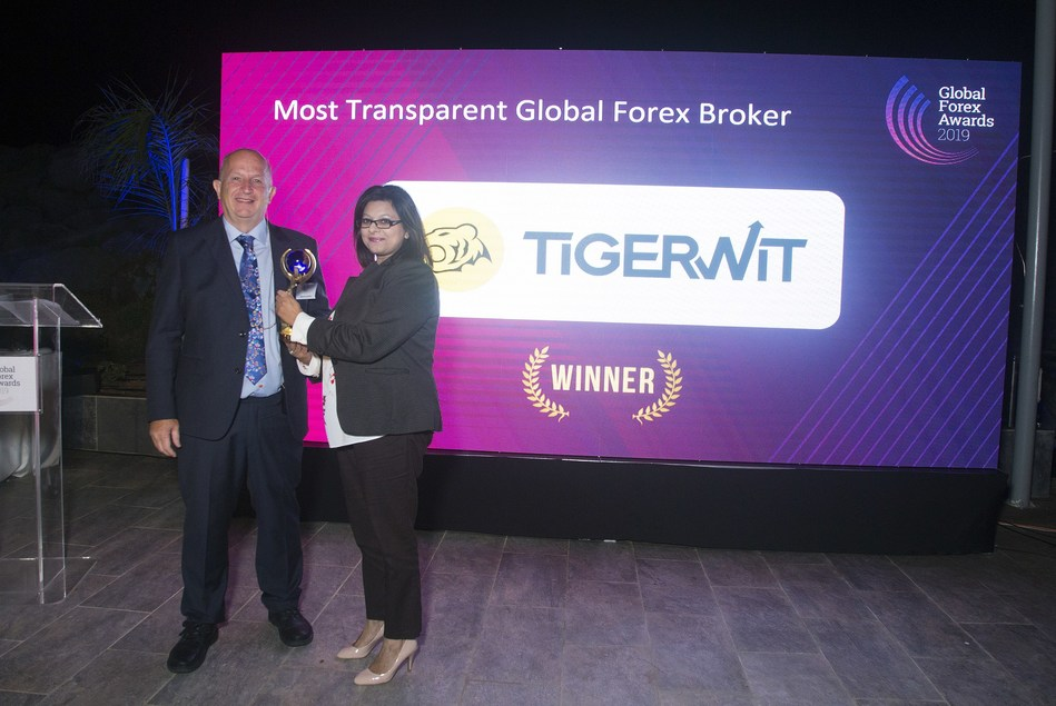 TigerWit's Sharon Shahzad picks up 1 of their 3 award wins on the evening.
