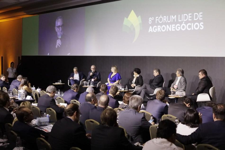 8º Fórum LIDE de Agronegócios. Crédito: Anderson Timóteo/Rampini Produções