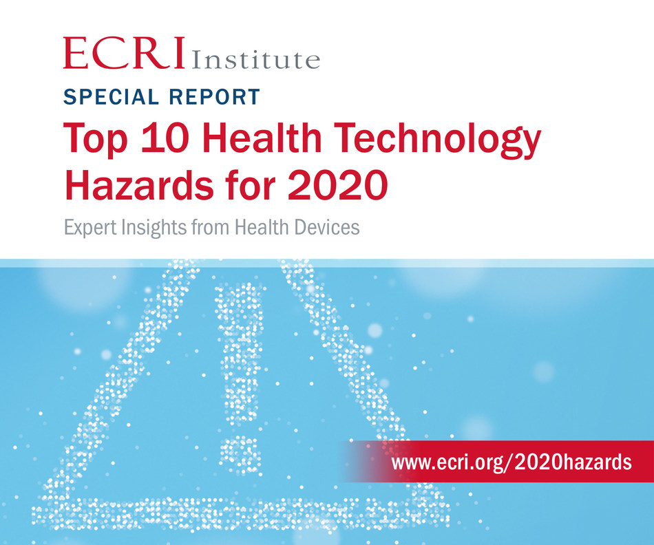 """ECRI Institute identified surgical stapler misuse as the number one health technology hazard in its Top 10 Health Technology Hazards for 2020 report. """"Injuries and deaths from the misuse of surgical staplers are substantial and preventable,"""" said Marcus Schabacker, MD, PhD, president and CEO, ECRI Institute. The FDA published an analysis of 109,997 stapler incidents since 2011, including 412 deaths. ECRI's report is intended to help stapler users avoid  common errors that lead to patient harm."""