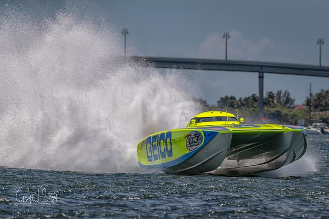 The Miss GEICO Offshore Racing Team started the season strong with a first place win in Cocoa Beach, FL.