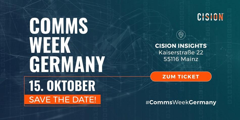 Communions Week Germany 2019 am 15. Oktober in Mainz