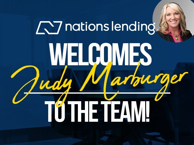 Judy Marburger, an award-winning mortgage professional with more than 20 years' experience in Southern Calif., has been named Branch Manager at Nations' new Corona, CA branch.