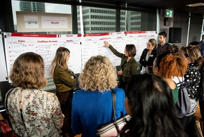 More than 200 company representatives gather to seek solutions (CNW Group/Réseau express métropolitain - REM)