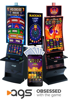 Highlights of AGS' G2E exhibit in Booth No. 1253 include two new slot cabinets, a host of new table games and table products, and solutions for online real-money and social gaming.
