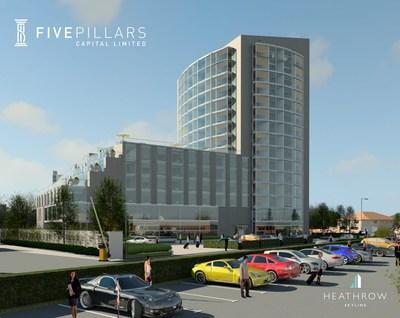 新的挑战者地产开发商Five Pillars Capital将改造西伦敦的天际线