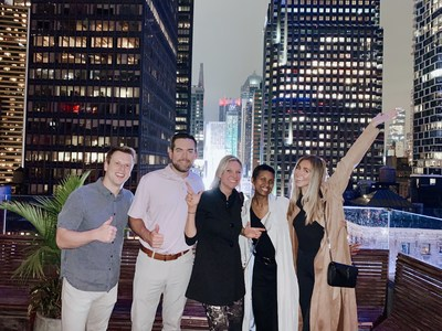 Team iFOLIO enjoying NYC during the Ascent Conference!