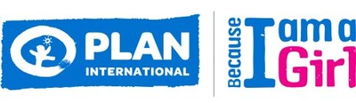 Plan International Canada and Because I am a Girl logos. (Groupe CNW/Plan International Canada)