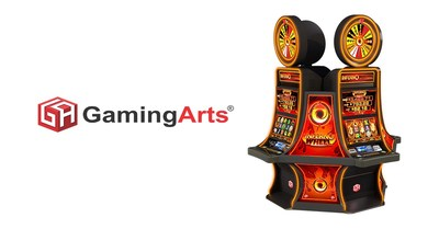 Inferno Wheel Video Reels to Debut at G2E 2019 on Gaming Arts Booth #4449