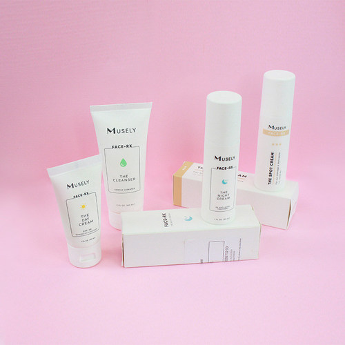 Face-RX by Musely enables anyone to receive prescription strength skincare products.