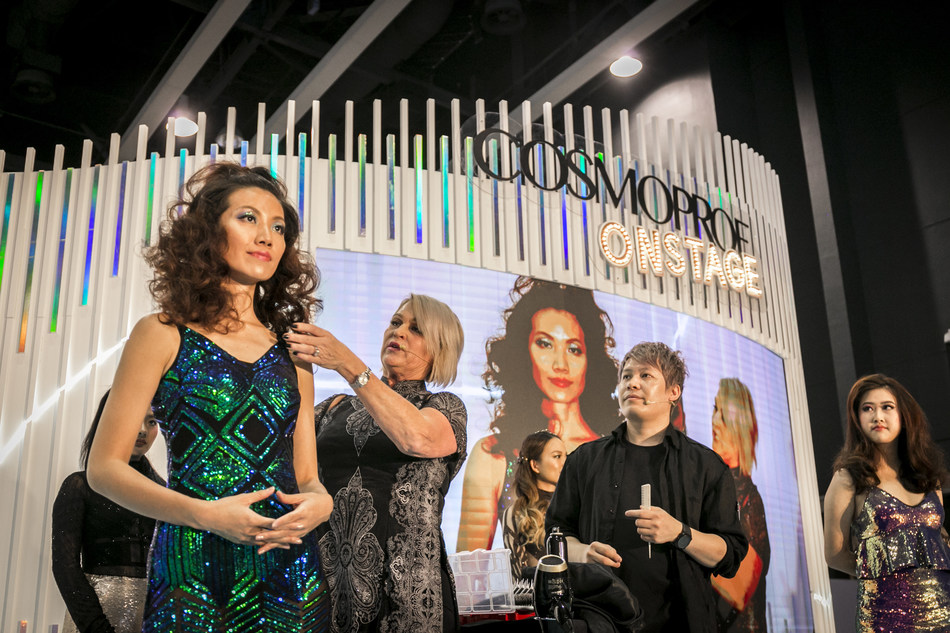 At Cosmoprof Asia at the HKCEC, the latest news for professional beauty sectors will be presented at the Onstage sessions.