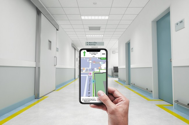 RVH selects Connexient for Indoor GPS