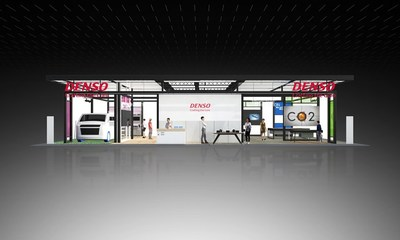 Conceptual image of DENSO booth