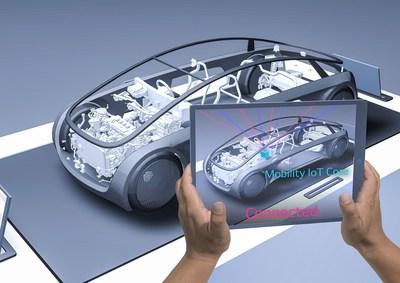 Conceptual Image of AR Mini Mock-up Car