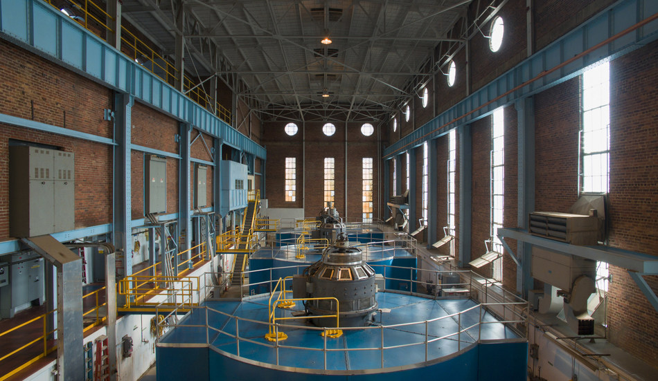 Falls Powerhouse North Carolina (CNW Group/Ontario Power Generation Inc.)