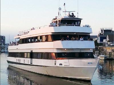 "Charleston Harbor Tours & Events new cruise ship, the ""Charleston Princess"""