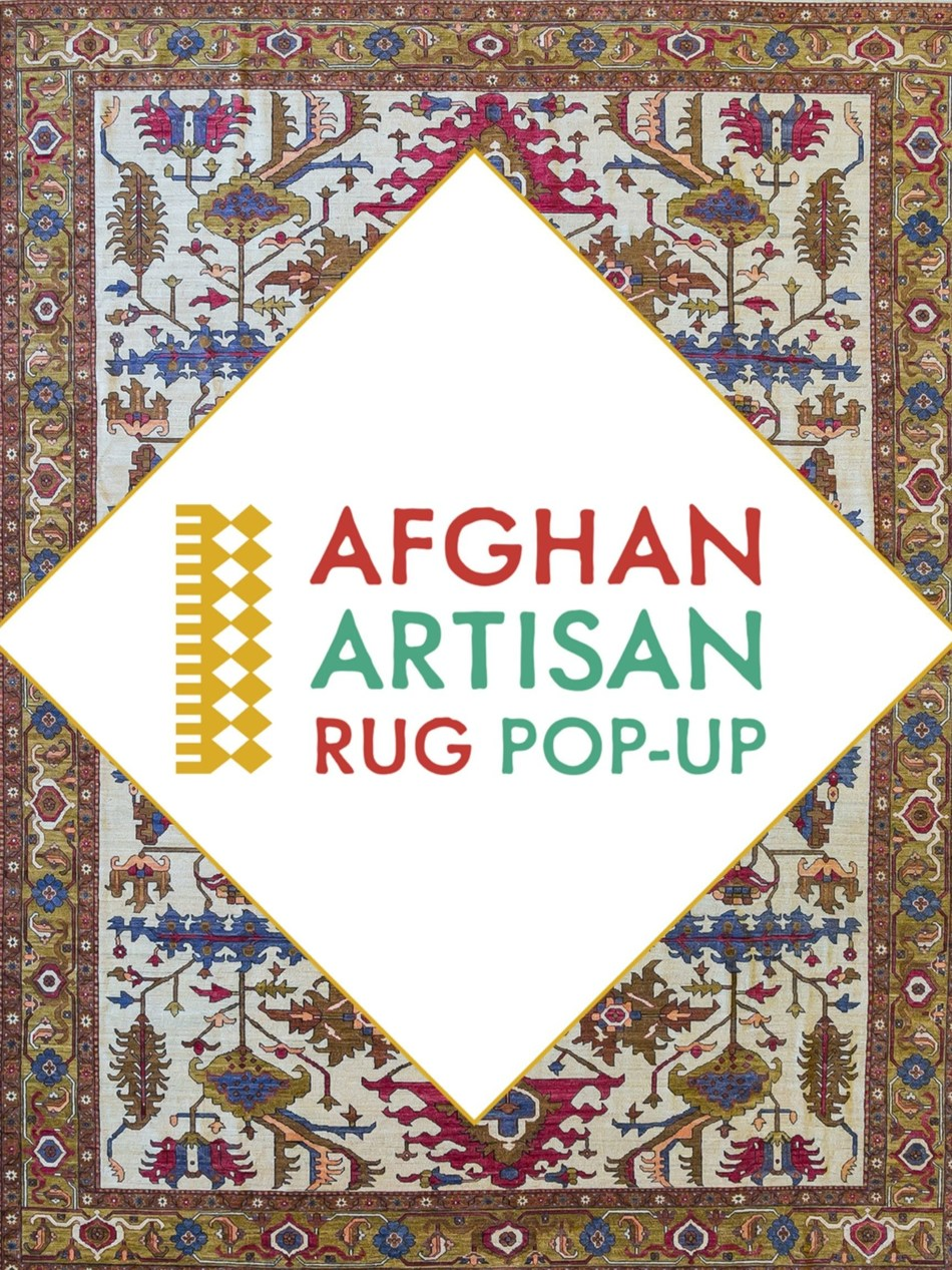 First Ever Afghan Artisan Rug Pop Up Coming To Nyc